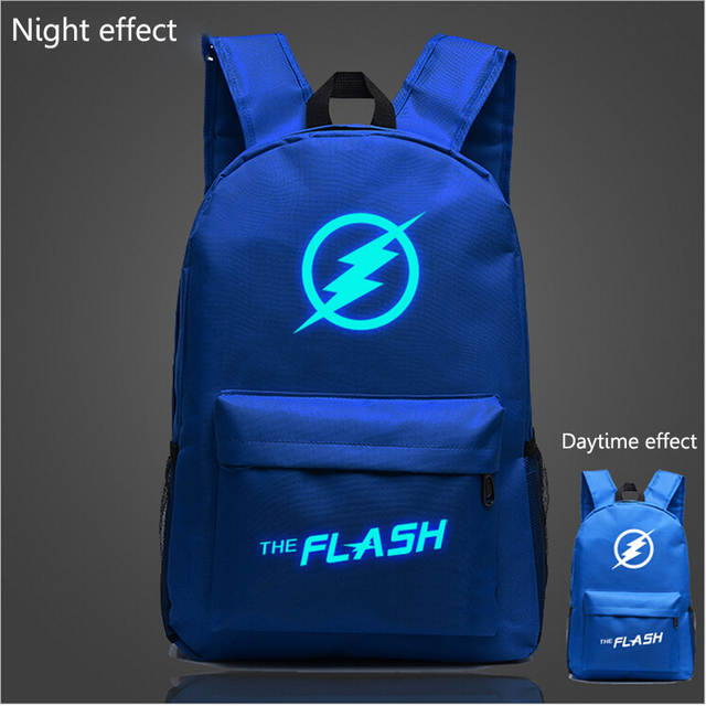 b68c57da27 placeholder Fashion Flash Luminous Printing Backpack Glow leisure backpack  Galaxy Animation Backpack School Bags for Teenagers Mochila