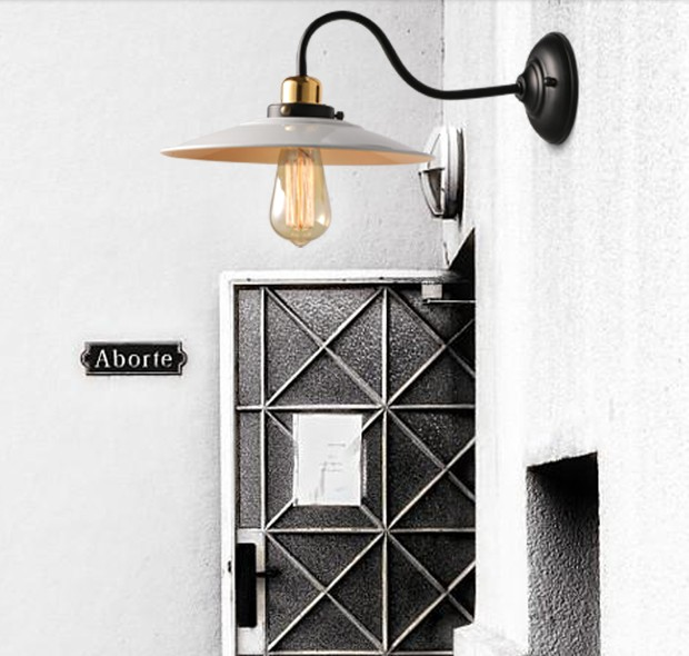 Loft Style Iron Vintage Wall Light Fixtures Industrial Edison Wall Sconce For Bedroom Bedside Wall Lamp Home Lighting Lampara folding study led table lamp 4 level sensitive touch dimmer desk lamps portable office eye care reading 12w rechargeable new