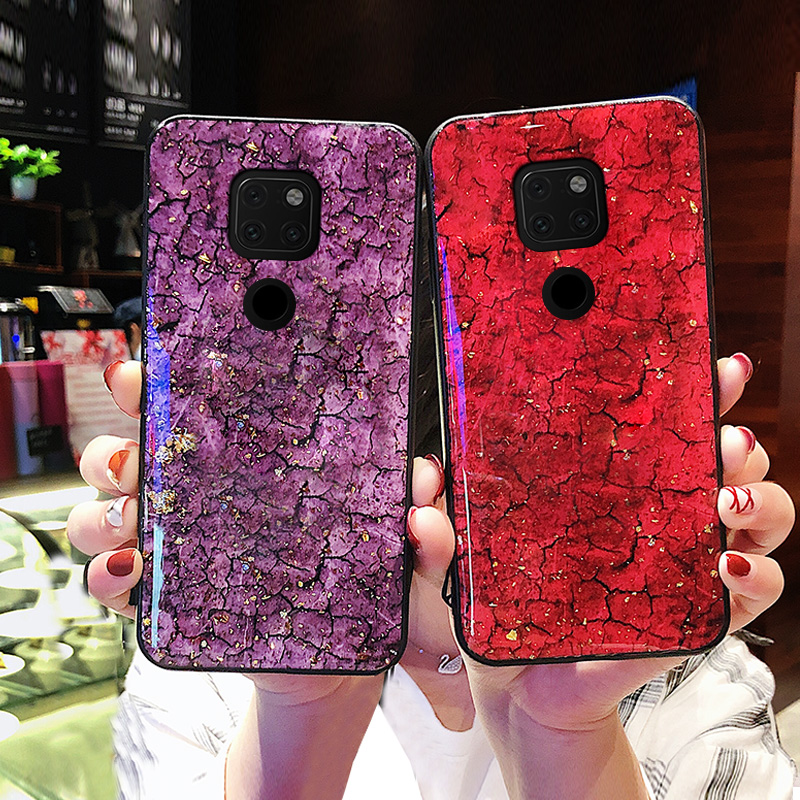 For Huawei Mate 20 Pro Case Luxury Glossy Soft Phone Cover For Huawei Mate 20 X P20 Lite Pro 10 Plus