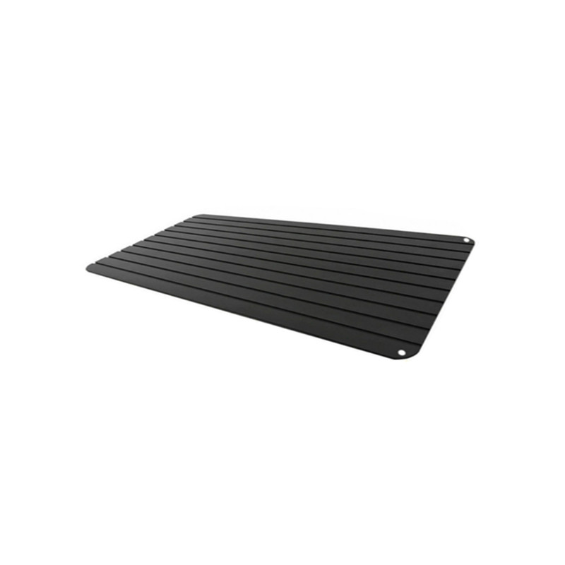 Quickly Safety Defrosting Meat Tray Rapid Thawing Tray For Frozen Food Chopping Blocks Kitchen Tool Black