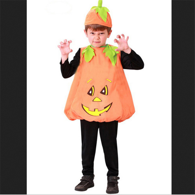 Toddler Boys Girls Pumpkin Costume Child Halloween Girl Boy Fancy Dress Outfit  sc 1 st  AliExpress.com & Toddler Boys Girls Pumpkin Costume Child Halloween Girl Boy Fancy ...