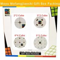 MoYu Mofangjiaoshi 2x2x2 3x3x3 4x4x4 5x5x5 Cube Magic Cube Gift Box Packing Professional Puzzle Classic Toys