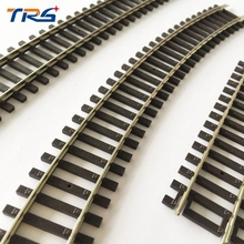 HO scale Train 1:87 rail Railroad Layout 3pcs Track General train track scene game model essential accessories