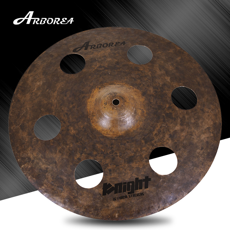 Arborea Cymbal Knight series 16 stacker cymbals for JazzArborea Cymbal Knight series 16 stacker cymbals for Jazz