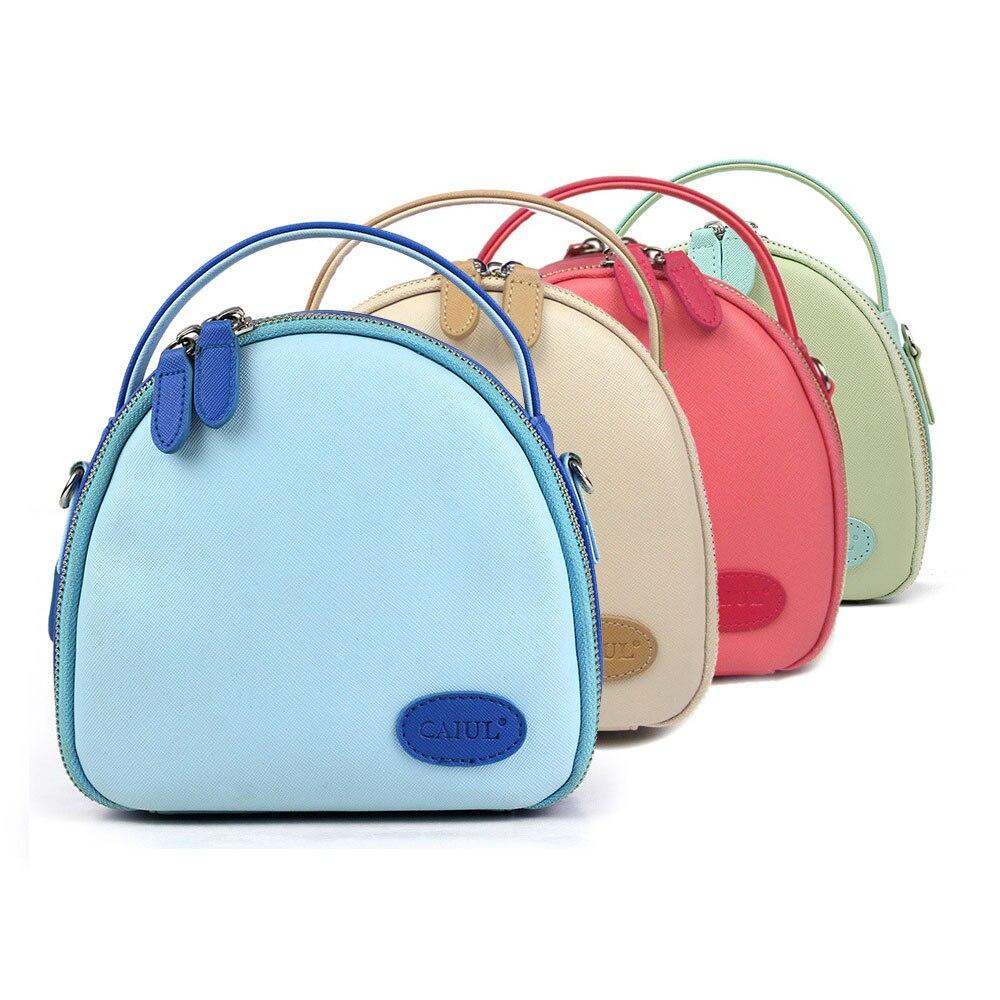 Fujifilm Instax Mini 9 8 70 7s 25 50s 90 Camera Zipper Case Small Strap Shoulder Bag Women Fashion Ladies Shell Bag Handbags