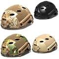 De alta calidad! tactical gear voodoo Táctico al aire libre airsoft casco protector casco de montar campo material plástico Envío gratis