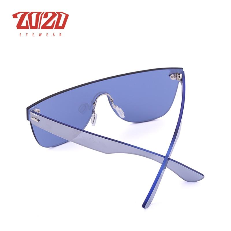 Image 5 - 20/20 Brand New Sunglasses Men Travel Driving Mirror Flat Lens Rimless Women Sun Glasses Eyewear Oculos Gafasbrand new sunglassesnew sunglassesflat lens -