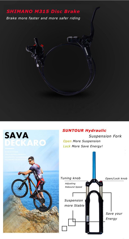 HTB1KcbCo26H8KJjy0Fjq6yXepXaa - SAVA Electrical bike Electrical mountain bike Carbon fiber e bike 27.5 bike Electrical bicycle carbon fiber body electrical bicycle