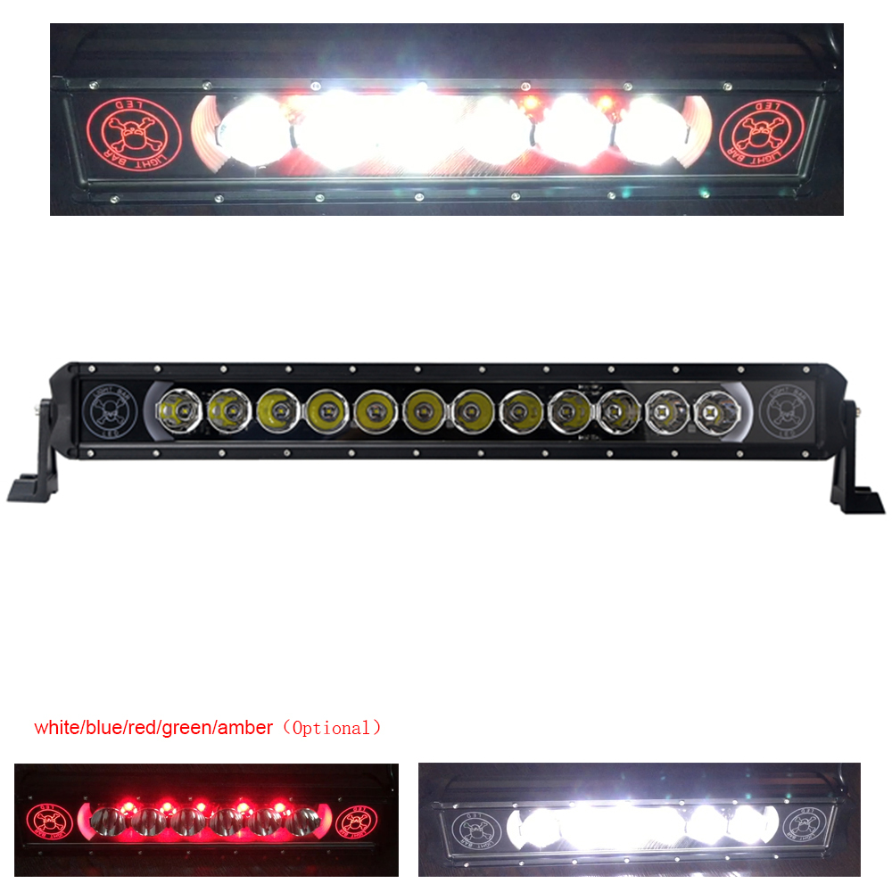 New 120W LED Tractor Work Light Bar for Boat OffRoad Truck SUV ATV 12V 24v Spot light beam Waterproof auto lamp light bar 6000K 14 120w offroad led light bar atv yacht boat truck trailer tractor car suv 4wd 4x4 camping work lamp 12v 24v auto headlight