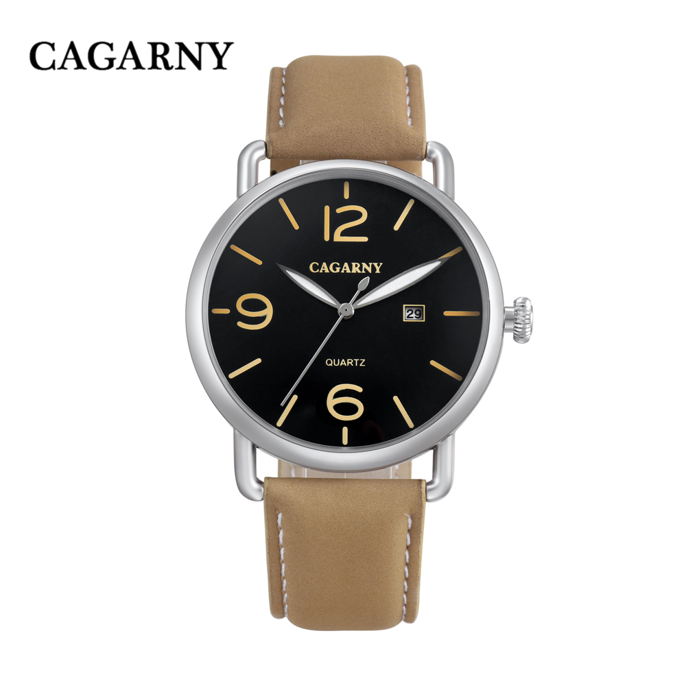 new arrival cagarny luxury brand quartz wrist watch for men watches casual clock man (13)