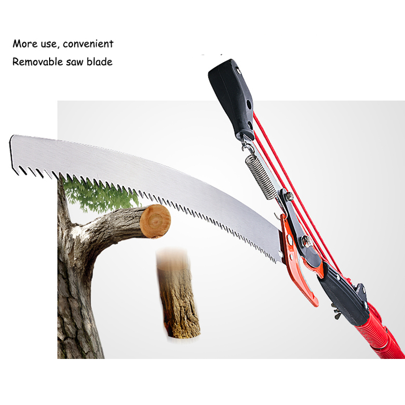 5.5m Elescopic Scissors Garden Tools Pruning Branch Scissors Gardening Shears Pruning Shears Height Saw GHJ001 city garden scissors gardening shears pruning gardening tools home pruning shears thick branches fruit tree scissors bonsai tool