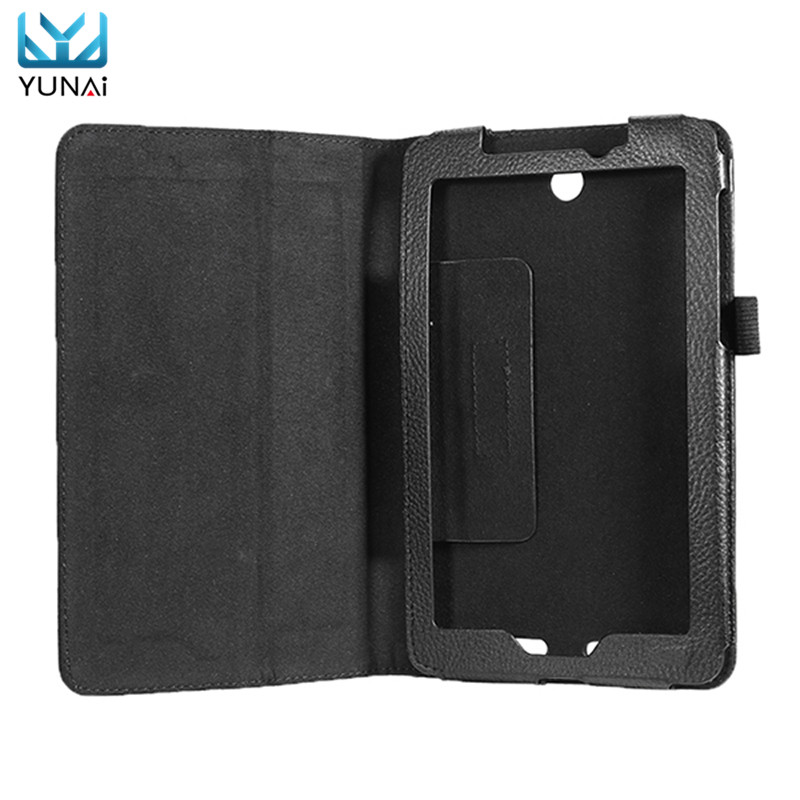 YUNAI Folio Stand Leather Skin Case Protective Cover For Acer PU Leather Case Folding Stand Cover For Acer Iconia Tab A1 713 yunai pu leather folding stand case cover protective skin shell protector for teclast p80h new fashion 8inch tablet cover case