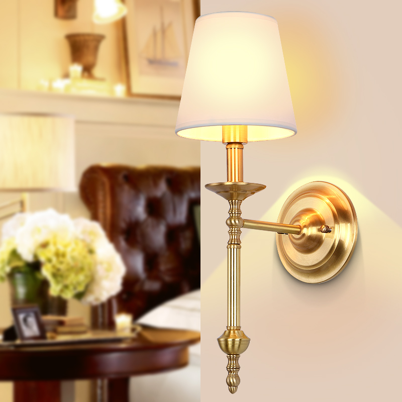 Arandela De Parede Copper Vintage Wall Lamp Lights For Home Living Room Home Lighting LED Wall Sconce Wandlamp