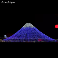 Feimefeiyou 24W 50M 400 Fairy LED String Light Outdoor Waterproof AC220V Chirstmas String Garland For Xmas Wedding Party Holiday