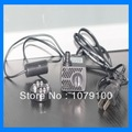 300L/H 4W 8 LED lights Resin pottery lamp mini fountain pump