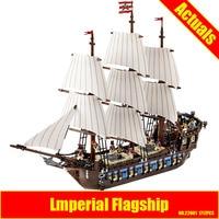 NEW LEPIN 22001 Pirate Ship Imperial Warships Model Building Kits Block Briks Gift 1717pcs Compatible DIY