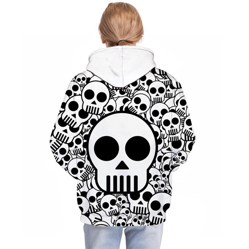 b169c4e05 Aliexpress.com   Buy Cute Skull Printed Brand 3D Hoodies Men Women ...