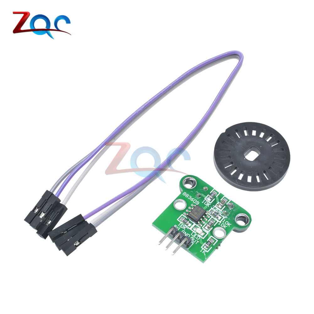 HC-020K Double Speed Measuring Module with Photoelectric Encoders to Test Motor's Rotational Speed
