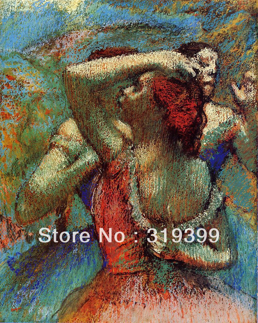 Oil Painting Reproduction on Linen Canvas,dancers 5 by edgar degas,Free DHL Shipping,handmade,Museum QualityOil Painting Reproduction on Linen Canvas,dancers 5 by edgar degas,Free DHL Shipping,handmade,Museum Quality
