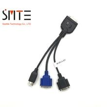 409496 001 C7000 BL480C SPS CA SUV (HDMI К USB + VGA male 9 pin + VGA female 15 pin) 416003 001 кабель для передачи KVM