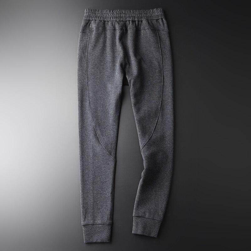Gris Deportes Primavera Tamaño Hombres w1745k Moda Minglu Más Calidad Pantalones De Skinny Espesar Alta Hombre Ocio Para 4xl H 1dCdxqZv
