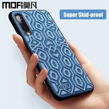 Dla Xiao mi mi 9 skrzynki pokrywa wersja globalna ochronna silikonowa odporna na poślizg tkaniny tylna pokrywa MOFi mi 9 SE i przezroczysty futerał