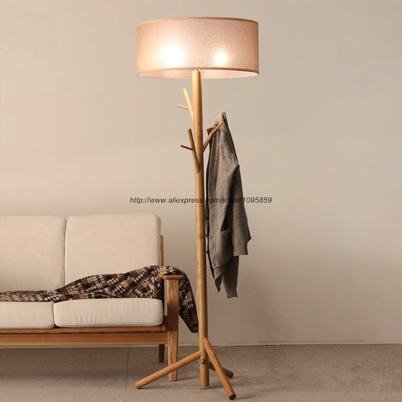 buy modern tree branch wood floor lamps lights bedroom coat rack grey standard bedside lighting from reliable floor lamp light suppliers on