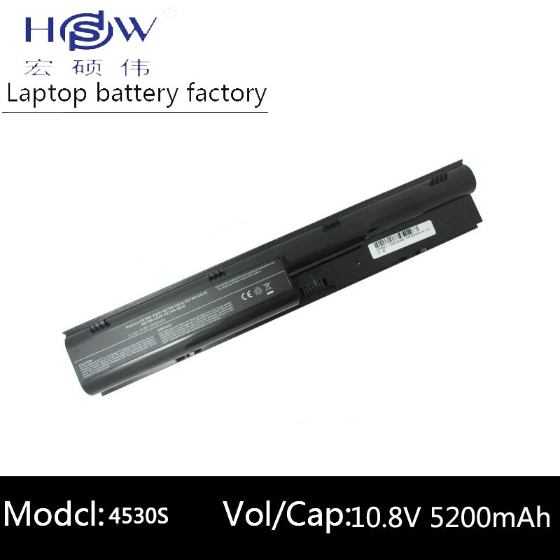 סוללה למחשב נייד HSW עבור HP ProBook 4530s HSTNN-I99C-4 סוללה למחשב נייד HSTNN-IB2R HSTNN-LB2R HSTNN-OB2R HSTNN-Q87C-4 סוללה