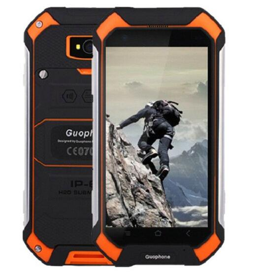 "GuoPhone V19 Android 6.0 4.5"" Gorilla Screen Smartphone MTK6580 Quad Core 1GB RAM 8GB ROM IP68 Waterproof Mobile Phone V9 BV6000"