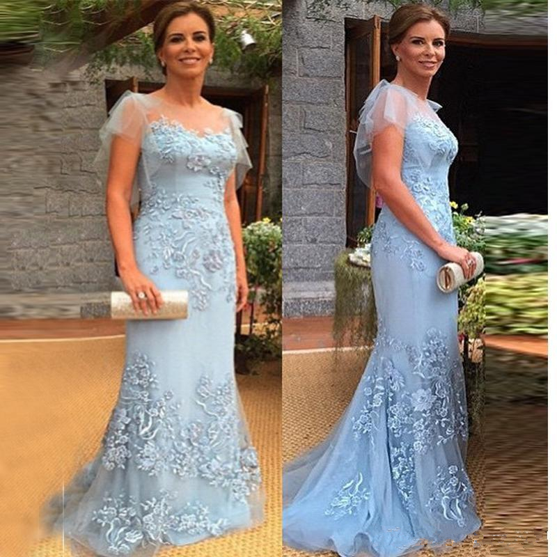Modern Long Mermaid Mother Of The Bridal Dresses 2019 New