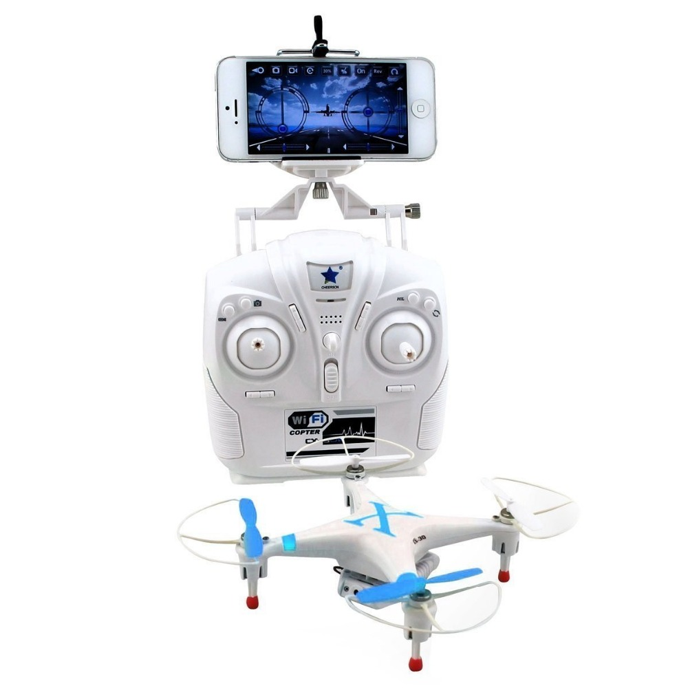 Cheerson FPV CX30W CX-30W Quadcopter Wifi Phone Remote Control Helicopter 2.4G 6 Axis RC Drones With Camera HD