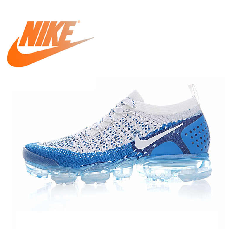 NIKE AIR VAPORMAX FLYKNIT 2,0 оригинальная аутентичная Мужская Беговая обувь дышащая спортивная уличная спортивная прогулочная беговая Обувь 942842