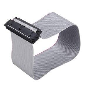 Image 5 - IDE 40 פינים זכר לנקבה כונן קשיח נתונים הארכת כבל סרט שטוח כבל עבור 3.5 inch PATA HDD