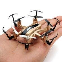 Comercio al por mayor rc drone jjrc h20 con una sola tecla de retorno 2.4g 4ch 6 axis quadcopter 3d vuelco sin cabeza modelo dron helicóptero de control remoto