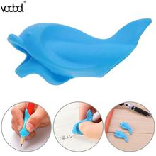 VODOOL 10pcs/set Silicone Preschoolers Correction Posture Writing Tool Student Hold Pen Correction Stationery Set Gifts