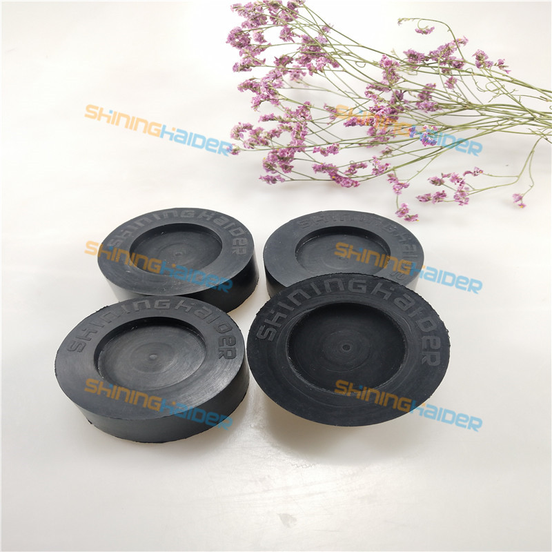 4PCS Fitting Hole ID45mm Pure Natural Rubber Foot Pad For Washing Machine Anti Vibration Rubber Pads For Washing Machines