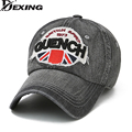 [Dexing]2017 New arrival high quality snapback cap Cowboy cotton baseball cap USA flag embroidery hat for men women unisex cap