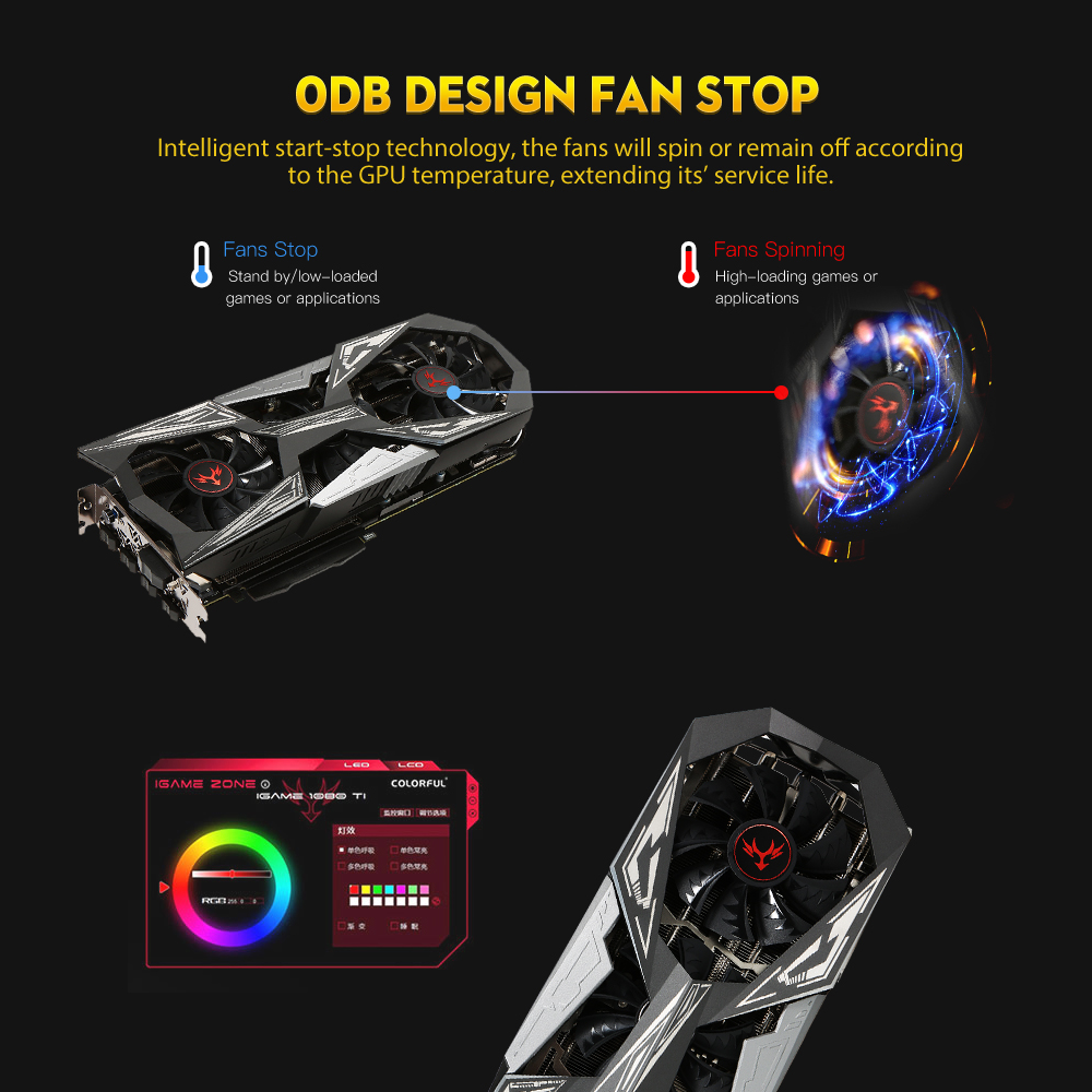 US $539 99 |Clearance Colorful iGame NVIDIA GTX 1070Ti Vulcan X Top Video  Card 1607/1683MHz 8G 256bit PCI E 3 0 Graphics Card With 3 Fans-in Graphics