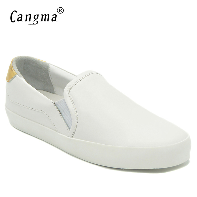Marque Cangma Femme Automne Véritable Casual Chaussures Mode IOaAq