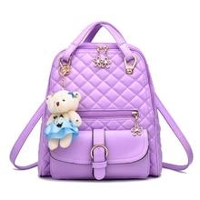 Лето 2017 г. новые женские сумки классический для отдыха модные женские рюкзаки Карамельный цвет лаванды Цвета: розовый и темно-синий сине-белые черный мешок