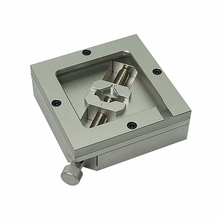 80MM 90MM Silver BGA Reballing Station Stencils Template Holder Foxture Jig For PCB Chip Soldering bga reball station holder jig 3 for ps3 gpu cpu cxr714120 stencils kit 0 6 balls 1 vacuum sucking pen