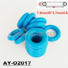 free shipping 200pieces good quality 7.8*3.71mm colored fuel inejector viton o ring seals repair parts for Chevrolet  (AY-O2017)