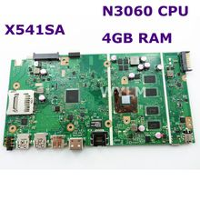 X541SA N3060 CPU 4GB RAM mainboard REV 2.0 For ASUS X541 X541S X541SA laptop motherboard 90NB0CH0-R00010 Test ok free shipping sitemap html page 2 page 7 page 5