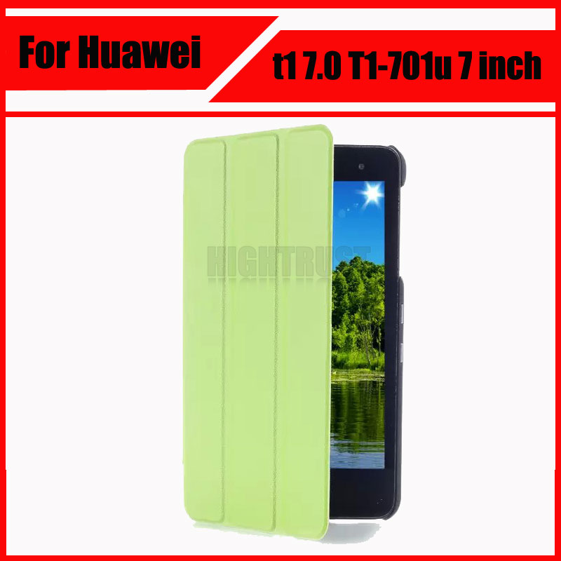 3 in 1 Luxury Magnet Smart Stand pu leather case cover for huawei t1 7.0 T1-701u 7 inch Tablet PC + Screen protectors+ stylus magnet pu leather case cover for huawei mediapad t1 7 0 tablet t1 701u t1 701 t2 7 0 funda shell screen protector stylus