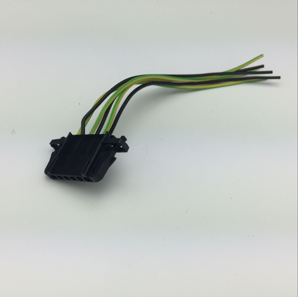 for vw polo golf audi skoda fabia electronic accelerator pedal plug connector wiring harness 3b0 972 706 in auto fastener clip from automobiles  [ 1000 x 999 Pixel ]