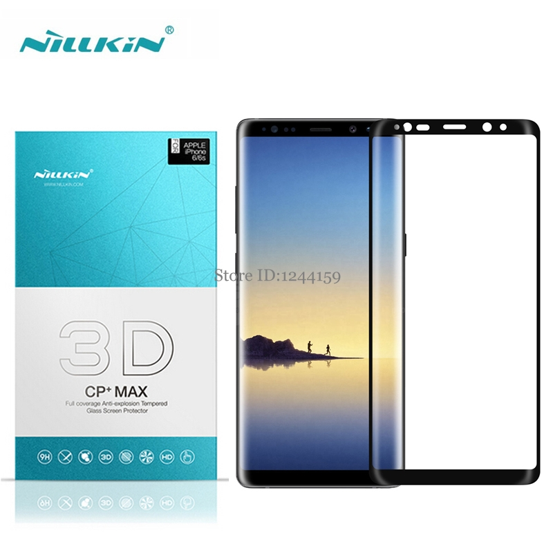 Screen Protector For Samsung Galaxy Note 8 NOTE8 Nillkin 3D CP+ Max Anti-Burst Full Cover for Galaxy note 8 Tempered Glass