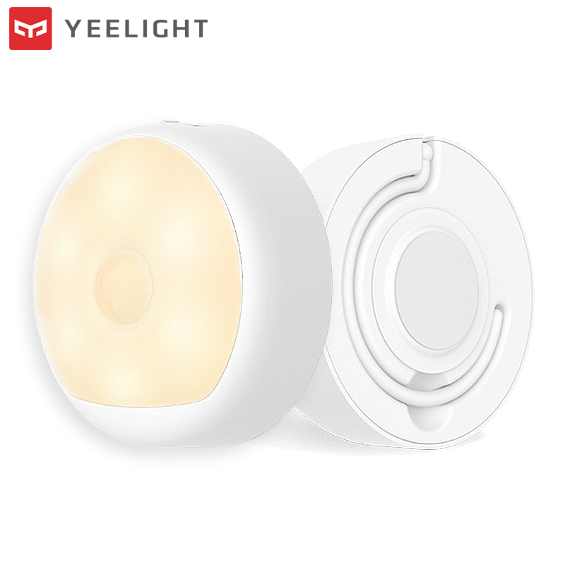Original XIAOMI YEELIGHT LED Night Light Infrared Human Body Motion Sensor Smart USB Magnetic Corridor Night Lamp Rechargeable ...
