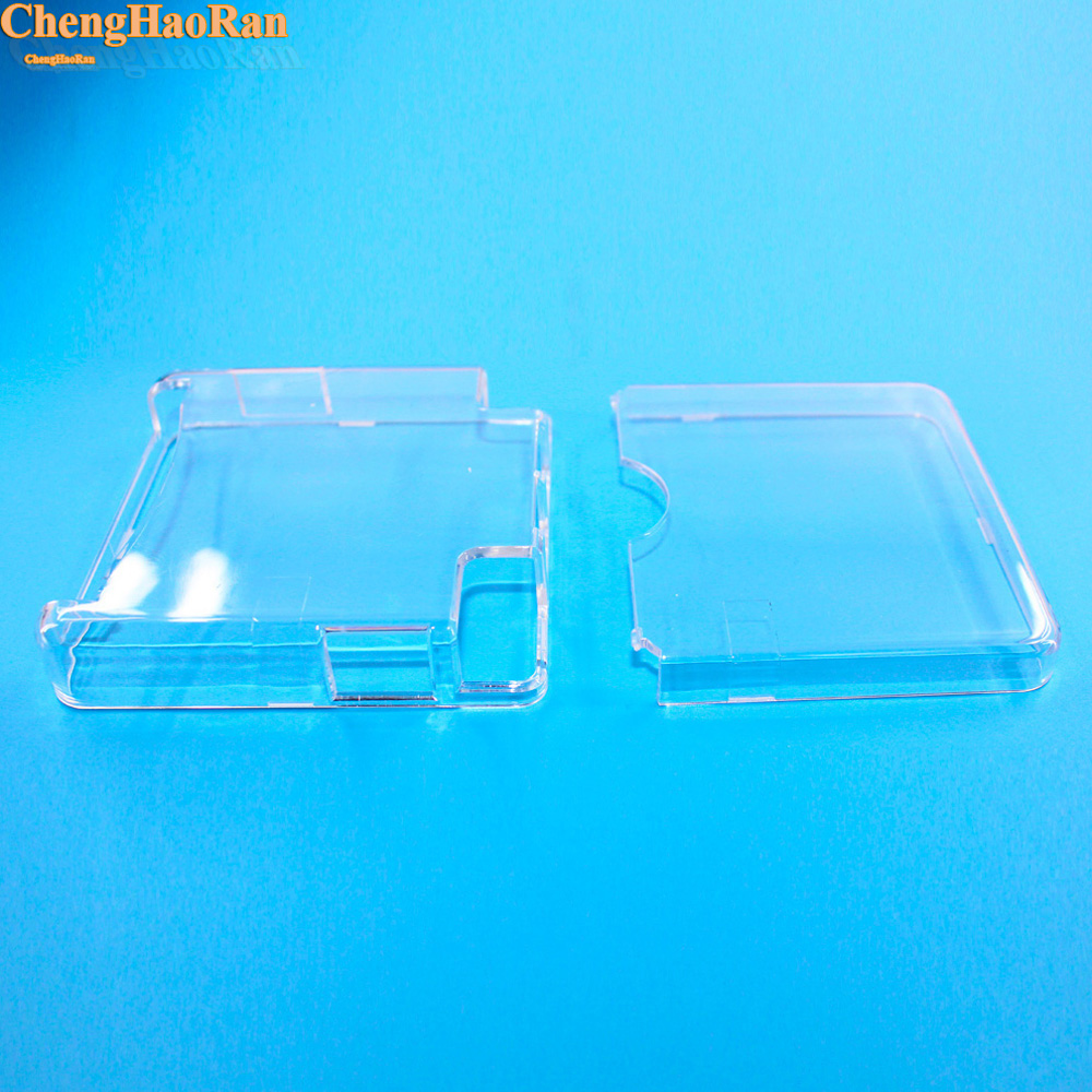 ChengHaoRan 1pc Clear Protective Cover Case Shell Housing For Gameboy Advance SP for GBA SP Game Console Crystal Cover Case-in Replacement Parts & Accessories from Consumer Electronics