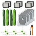 Для пылесоса Irobot Roomba I7 I7/I7 Plus E5 E6  2 комплекта многоповерхностных резиновых щеток  6 пачек Hepa фильтров  6 упаковок боковых щеток