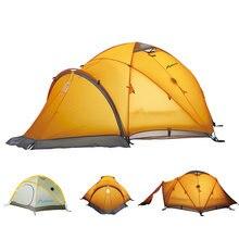 Большие Палатки Кемпинга 3 Человек Открытый Водонепроницаемый Палатка Для Альпинизма Восхождение Охота Туризм